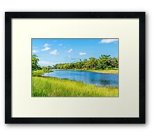 Up the River, Down the River Framed Print