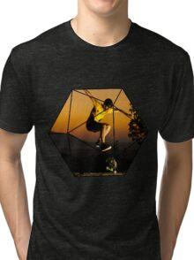 Casual SkateBoard Tri-blend T-Shirt