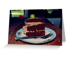The beets cake Greeting Card