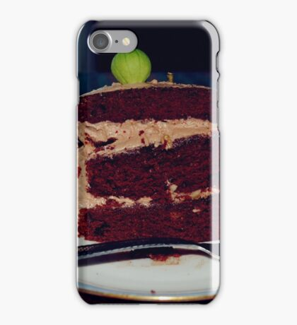 The beets cake iPhone Case/Skin
