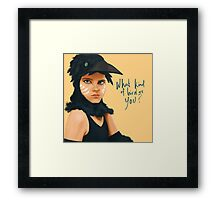 What Kind of Bird Are You? Framed Print