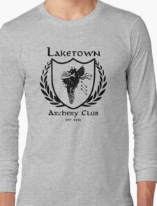 Laketown Archery Club (Black) Long Sleeve T-Shirt