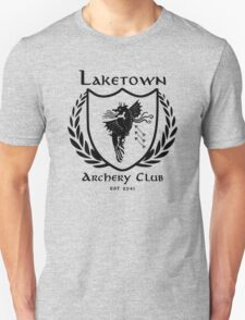 Laketown Archery Club (Black) Unisex T-Shirt