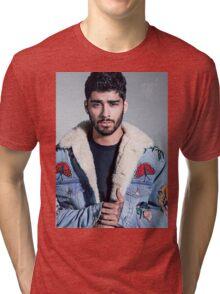 ZAYN MALIK -HIGHS NOBIETY COVER Tri-blend T-Shirt
