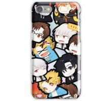 Mystic Messenger chat room chibi design iPhone Case/Skin