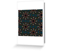 floral mandala pattern Greeting Card