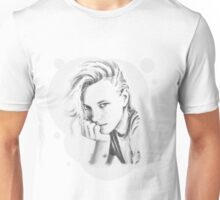 Erika Black and White Unisex T-Shirt