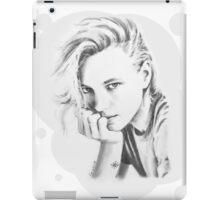 Erika Black and White iPad Case/Skin