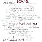 Valentine Love Word Cloud by taiche