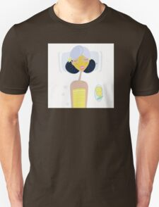 Spa girl with face mask : Yellow Edition Unisex T-Shirt