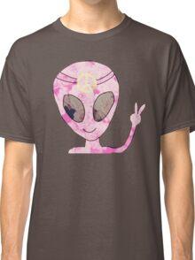 Peace Alien Hippie Classic T-Shirt