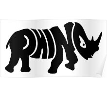 Rhino VRS2 Poster
