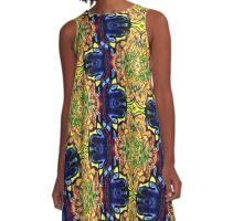temple A-Line Dress