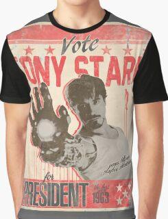 President Stark Graphic T-Shirt