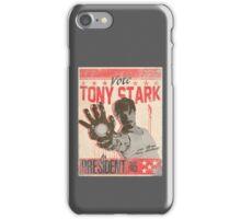 President Stark iPhone Case/Skin
