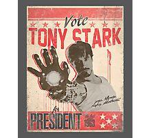 President Stark Photographic Print