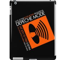 Depeche Mode : Rose Bowl 1988 poster tribute iPad Case/Skin