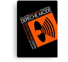 Depeche Mode : Rose Bowl 1988 poster tribute Canvas Print