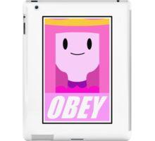 Obey the princess iPad Case/Skin