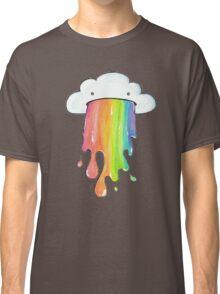 Puking rainbow cloud Classic T-Shirt