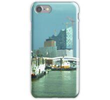 Hamburg Landungsbrücken -Tiltshift (2) iPhone Case/Skin