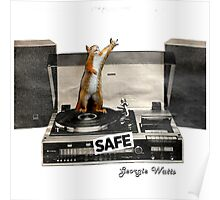 Safe collage by Georgie Watts Poster