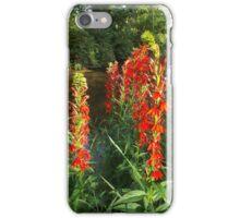 Cardinal Flowers iPhone Case/Skin