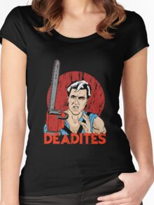 Ancient Deadites Women's Fitted Scoop T-Shirt