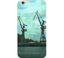 Hamburg Landungsbrücken -Tiltshift (5) iPhone Case/Skin