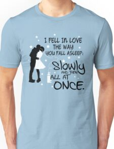 The Fault in Our Stars - I Fell in Love Unisex T-Shirt
