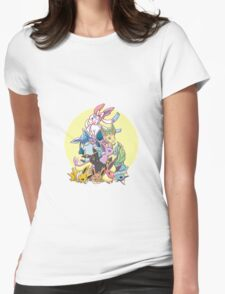 Nine power Womens Fitted T-Shirt