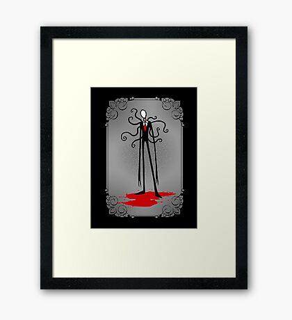 A Svelte Gentleman Framed Print