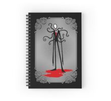 A Svelte Gentleman Spiral Notebook