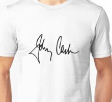 Johnny Cash Signature  Unisex T-Shirt
