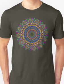 Crazy Color Wheel Unisex T-Shirt