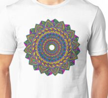 Crazy Color Wheel Unisex T-Shirt