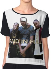 PAID IN FULL Chiffon Top