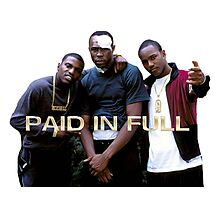 PAID IN FULL Photographic Print