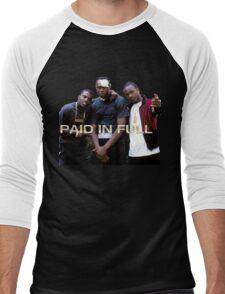 PAID IN FULL Men's Baseball ¾ T-Shirt