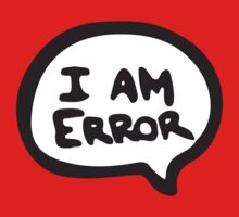 I AM ERROR Kids Clothes