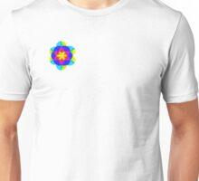 Bright zentangle flower Unisex T-Shirt