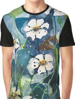 Flower Garden Graphic T-Shirt