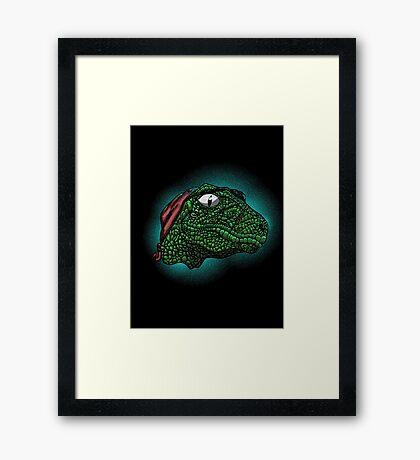 Rrraptor Framed Print