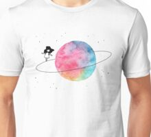 girl in space Unisex T-Shirt