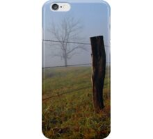 Smoky Mountains Scene-0008044 iPhone Case/Skin
