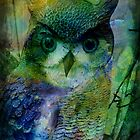 Abstract Owl by Forfarlass