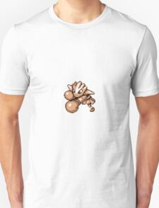 Hitmonchan Generation 1 Pokemon Sprite Unisex T-Shirt