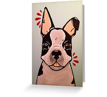 Little Frenchie-poo Greeting Card