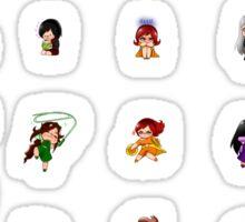 Magical Girl School Full Chibi Set Sticker