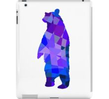 Cool grizzly bear design iPad Case/Skin
